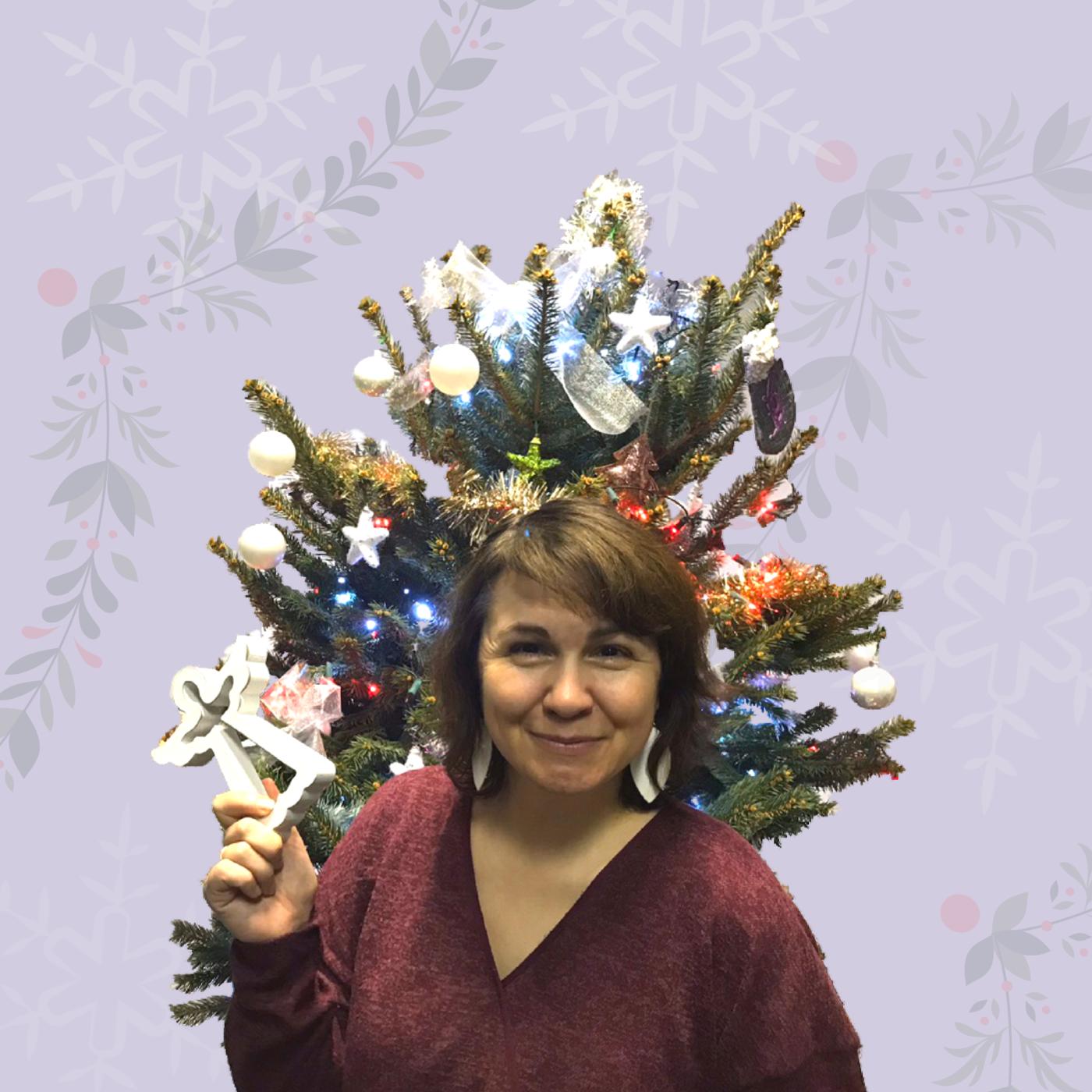 Маша Ляшенко, новогодняя елка.